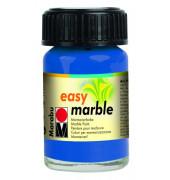 Marmorierfarbe Easy Marble 1305 39 095, azurblau, 15ml