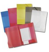 Sammelmappe 6989, A4 Kunststoff, farbig sortiert transparent