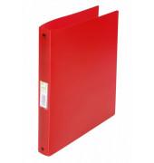 Ringbuch A4 rot-transparent 4-Ring Ø 25mm