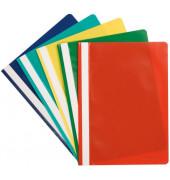 Schnellhefter A4 farbig sortiert PP Kunststoff kaufmännische Heftung bis 250 Blatt