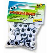 750012 100ST Wackelaugen D12mm