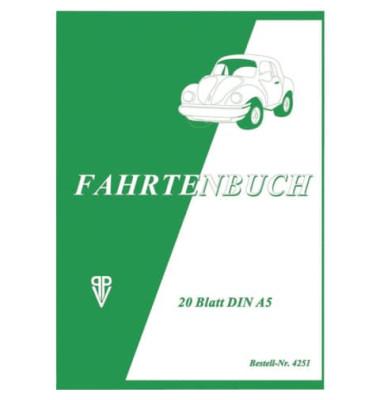 PENIG 4251 Fahrtenbuch A5 20BL