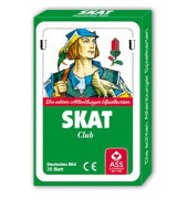 Spielkarten Skat deutsches Blatt Pappschachtel