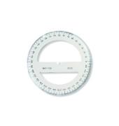 SEEHAUS 746278 Kunststoff Winkelmesser 360° (Voll)