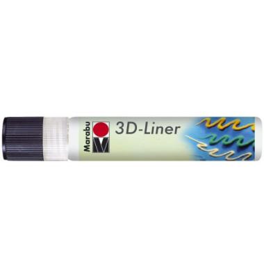 1803 09 670 3D Liner 25ml weiß