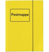 4442 319 mit Gummizug Sammelmappe Postmappe A4 gelb