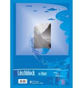 2300 Löschblattblock A4 farbig 10 Blatt