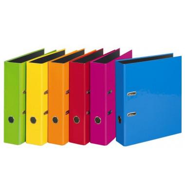 Velocolor 4142300 farbig sortiert Ordner A4 breit 70mm breit