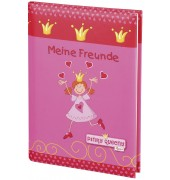 41362 15x21cm Freundebuch Pinky Queeny