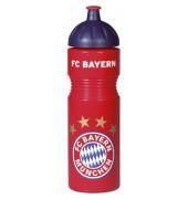 FCBAYERN 17376 Trinkflasche Plastik 0,75l rot