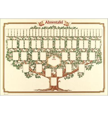 Ahnentafel 2808 Baum 50x70 1-63 Per