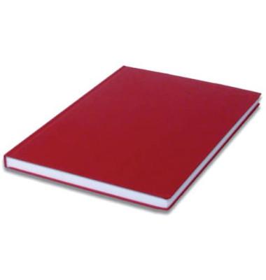 1878452362 blanko Notizbuch A4 96BL rot