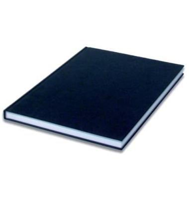 1878452702 blanko Notizbuch A4 96BL schwarz