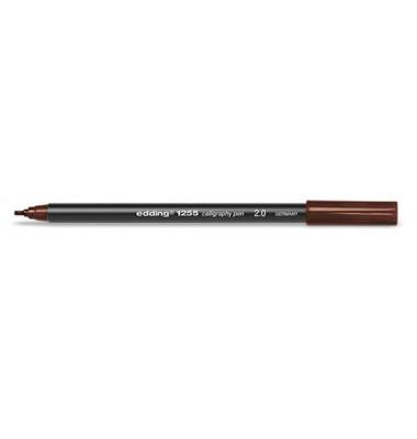 12552-0018  2,0mm Calligraphypen braun