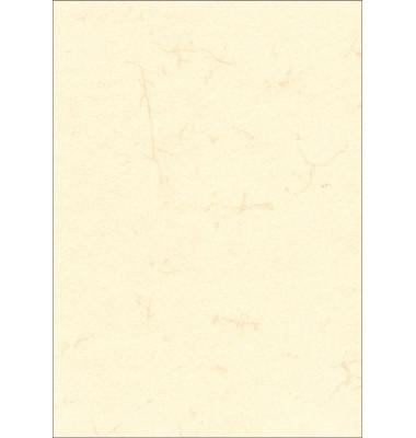 2859 ohne Druck 190g weiß Urkunde A3 Elefantenhaut hell
