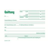 3029 Quittung A6 m.Mwst 50BL