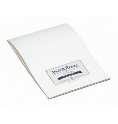 PaperRoyal 2002831009 Briefblock A4 weiß