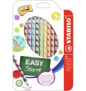 STABILO 331/12 EASYcolors Farbstiftetui links 12ST sort.