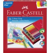 Buntstifte Colour Grip 36-farbig sortiert 7 x 175mm Atelierbox