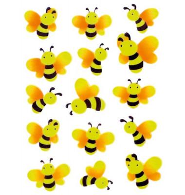 6038 Sticker Magic Bienen Neon