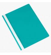 Schnellhefter A4 türkis PP Kunststoff kaufmännische Heftung bis 250 Blatt