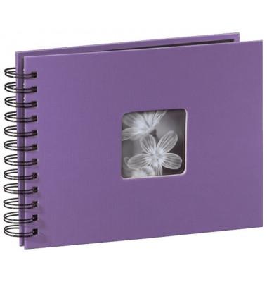 94881 22x17cm Fotospiralbuch Fine Art lila