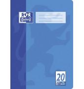 Schulheft A4 Lineatur 20 blanko weiß 32 Blatt