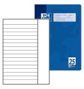 Schulheft A4 Lineatur 25 liniert mit Rand weiß 32 Blatt