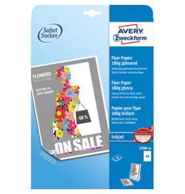2789-40 40Bl Inkjet Flyer-Papier A4 180g