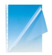 Prospekthüllen A4 glasklar glatt 150my oben und links offen 100 Stück