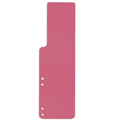Aktenfahnen KF15766 rosa 320g gelocht 100x320mm 100 Blatt