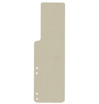 Aktenfahnen KF15767 grau 320g gelocht 100x320mm 100 Blatt