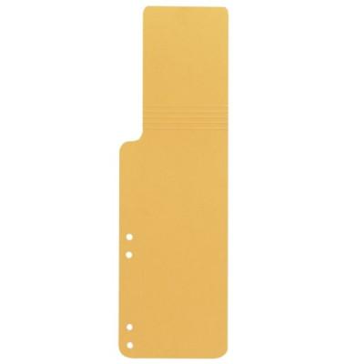 Aktenfahnen KF15770 gelb 320g gelocht 100x320mm 100 Blatt