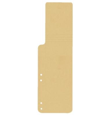 Aktenfahnen KF15771 chamois 320g gelocht 100x320mm 100 Blatt