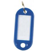 KF10872 Schlüsselanhänger 10ST d.blau