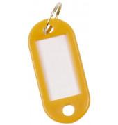 KF10873 Schlüsselanhänger 10ST gelb