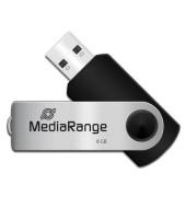 USB-Stick Speed USB 2.0 silber/schwarz 8 GB