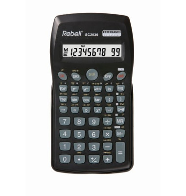 SC2030 74x140x11 BxHxT Taschenrechner