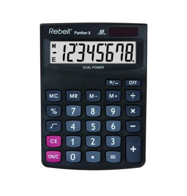 Panther 8 BX 102x143x29mm Tischrechner