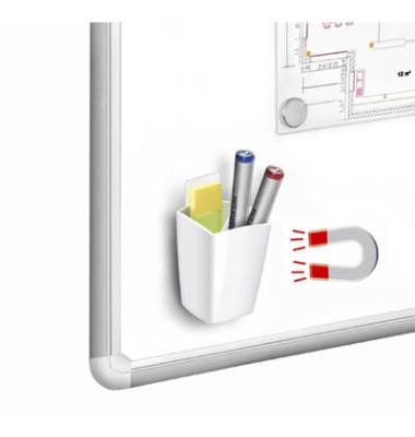 1005310021 530M G Schreibköcher magnet. weiß