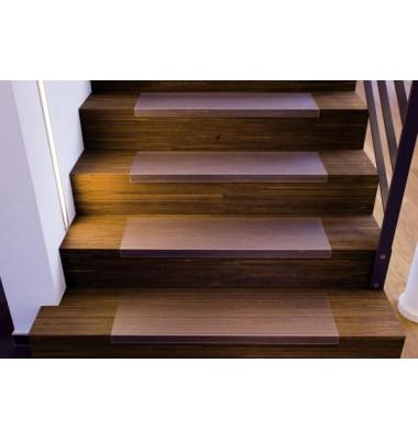 Treppe-8026 Treppenstufenmatte rechteckig transparent