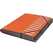 400033686 PP for Business Ordnungsmappe 12Fächer orange