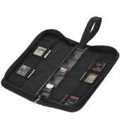 BOX99 10USB/5SD Speicherkarte Tasche schwarz