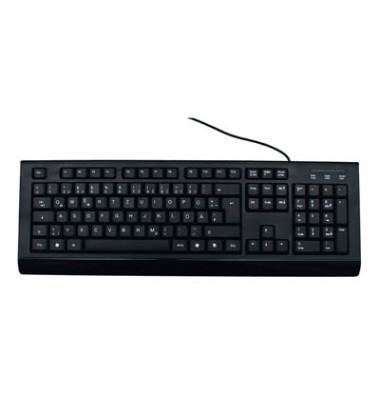 Tastatur MROS101 Office&Home USB Kabel schwarz
