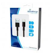MRCS137 iPhone 5/5 Ladekabel Lightning schwarz