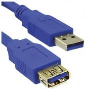 MRCS151 USB 3.0 Verlängerungskabel A/A 1,8m bl