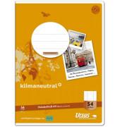 Vokabelheft Basic A4 Lineatur 54 liniert 3 Spalten weiß 32 Blatt