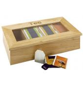 400-2354 Teeset Teebox holz