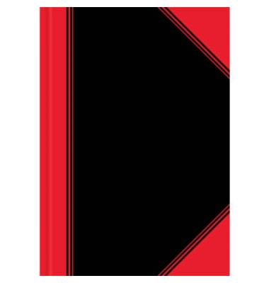 100302831 schwarz/rot Chinakladde A4 96Bl unliniert