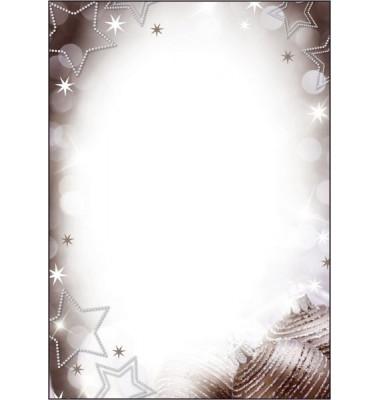Weihnachtspapier Christmas Diamond A4 25 Blatt DP020